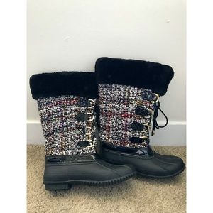 🌿 Amazing Colorful I.N.C. Snow/ Rain Boots